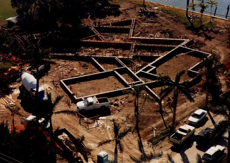 Grade Beam and Pile foundation shown here | Under Construction